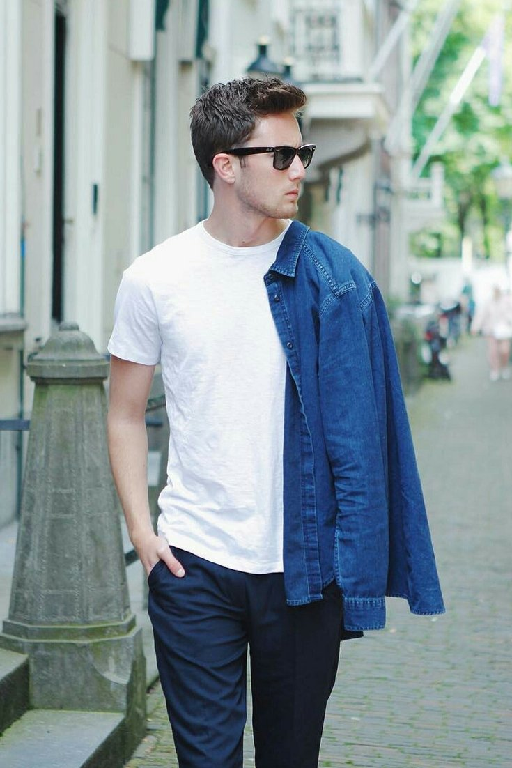 How_to_wear_white_t_shirt_for_men_7